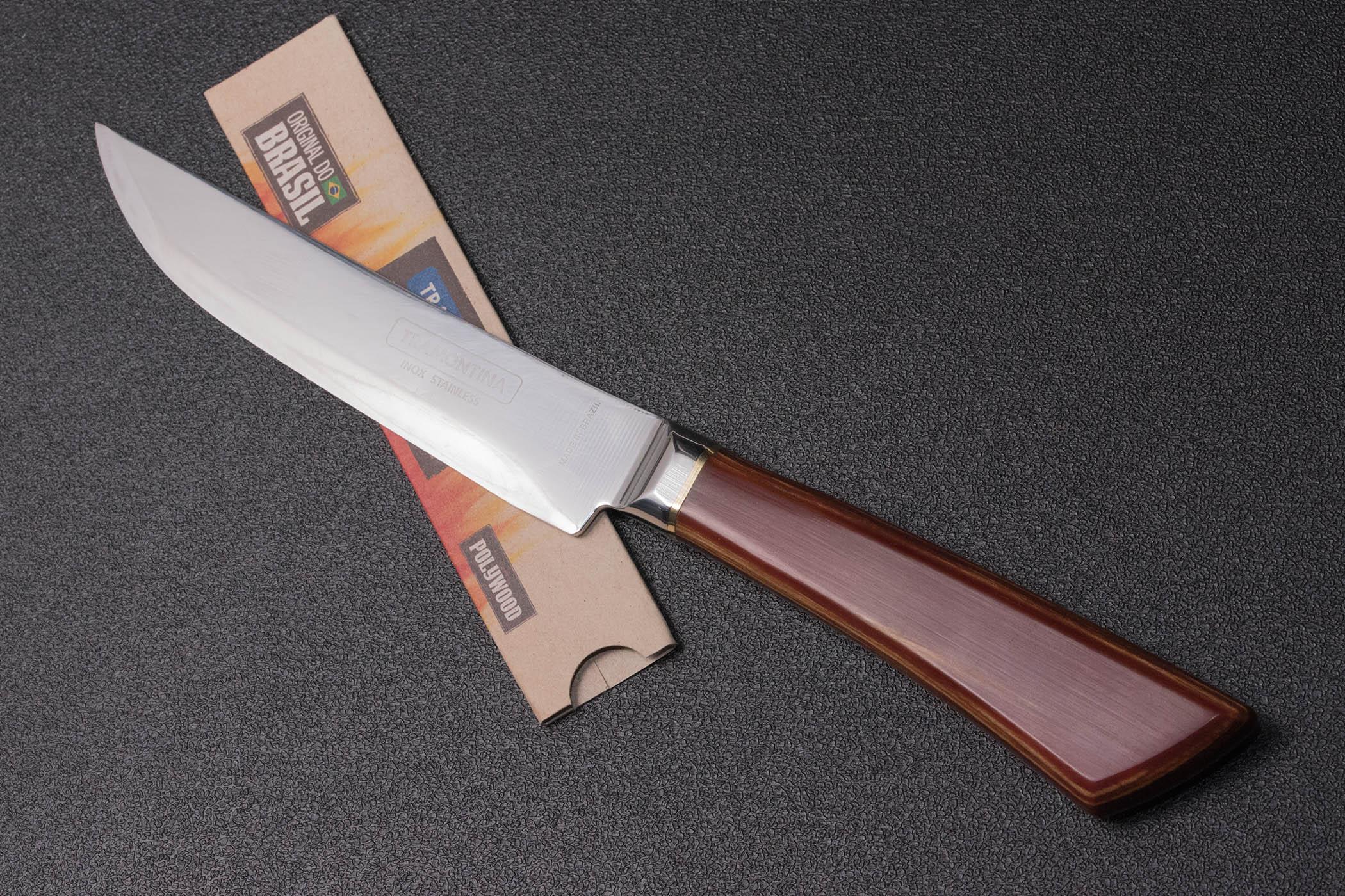 ステーキナイフをキャンプ用に研ぎ直してみた